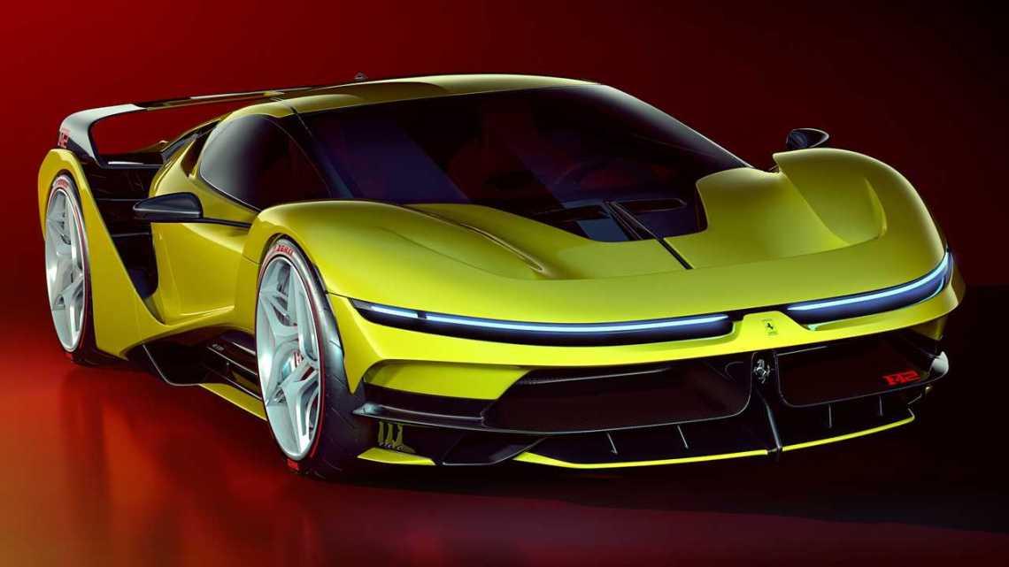 Ferrari F42 Concept 2020 – Une version moderne de l'emblématique F40