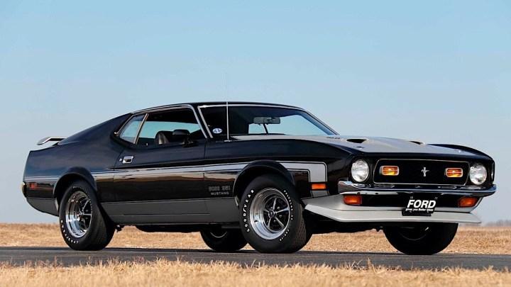 Ford Mustang Boss 351 Fastback 1971, la muscle car préférée de l'époque