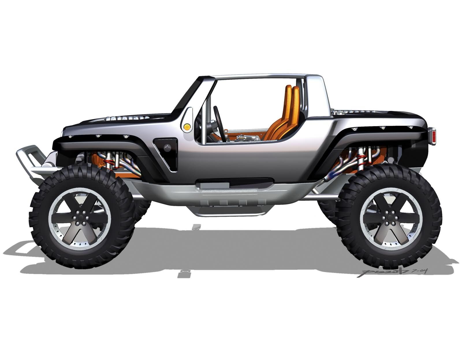 Jeep Hurricane Concept 2005
