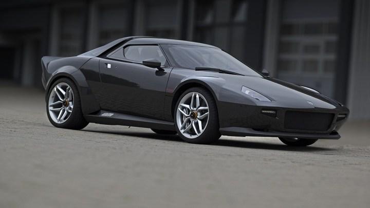 Lancia New Stratos – 25 exemplaires moderne basée sur la Ferrari 430