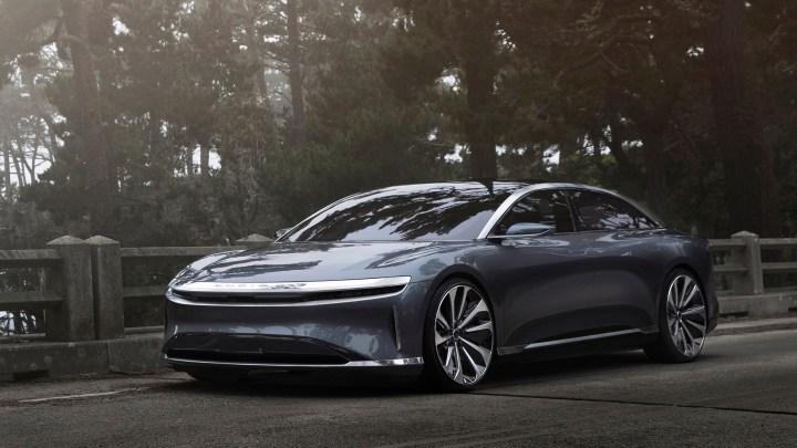 Lucid Air Launch Edition Prototype 2017 – La voiture de luxe électrique