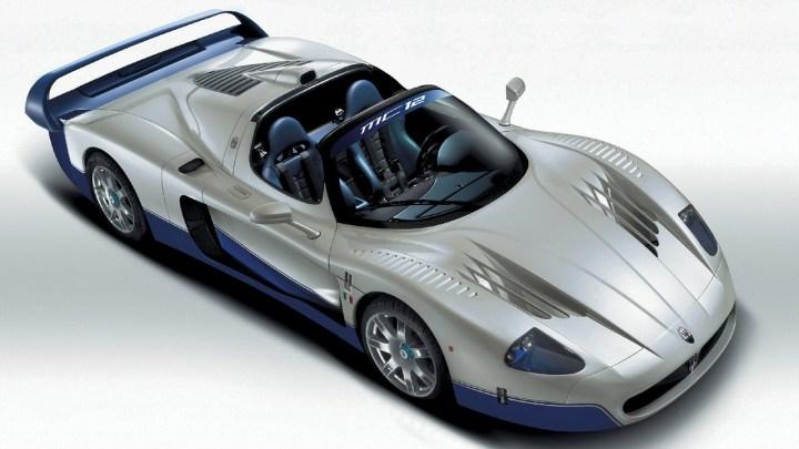 La Maserati MC12 est la Cousine de la Ferrari Enzo – Description et photos