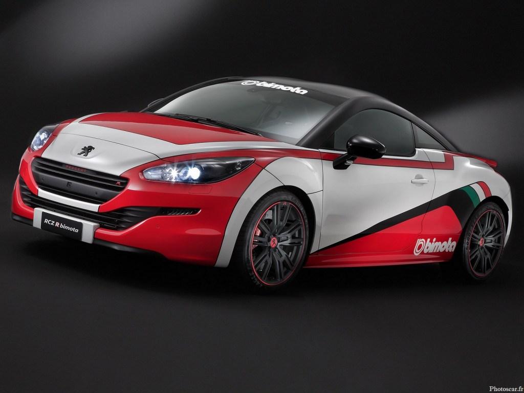Peugeot RCZ R Bimota 2015 – Dédiée à un usage sur circuit avec 2 GoPro