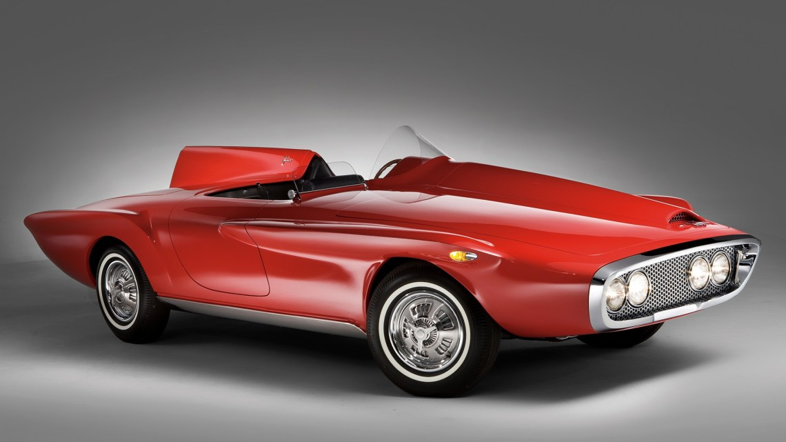Plymouth XNR Concept 1960 – Superbe conception Virgil Exner