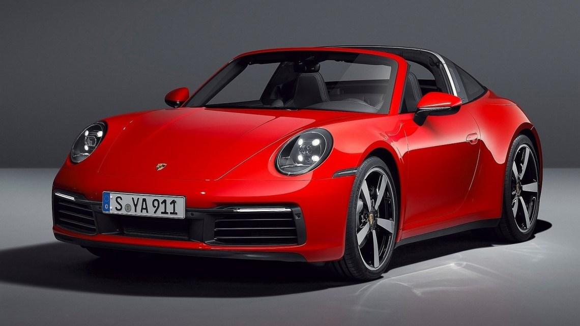 Porsche 911 Targa 4 2021 – plus de puissance et des fonctionnalités MAJ