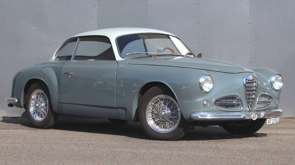 Alfa Romeo 1900 C Serie 1 1952 – Première Alfa à coque autoportante