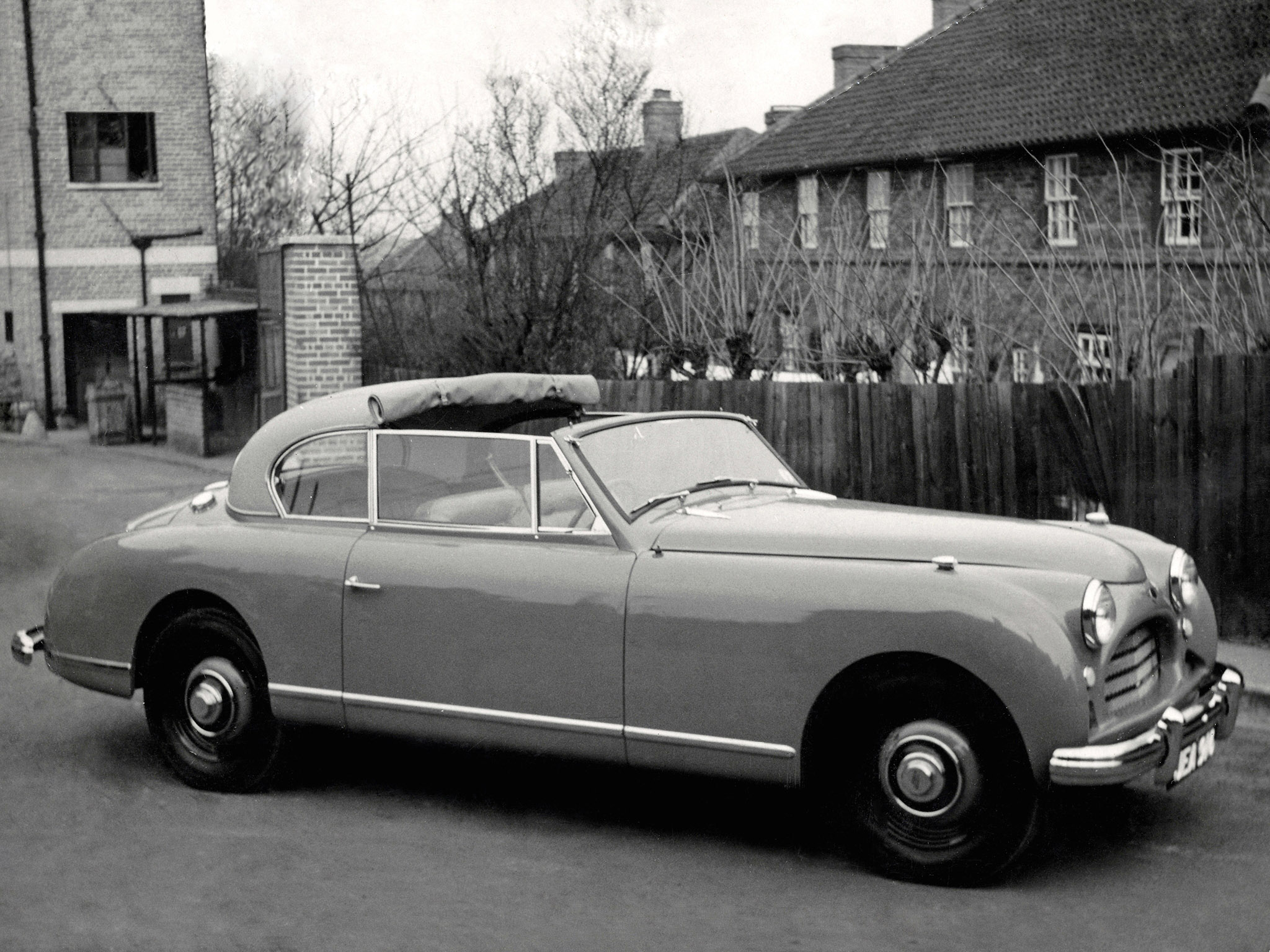 Jensen Interceptor Convertible 1950