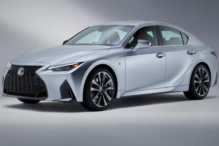 Lexus IS 2021 – Un look beaucoup plus moderne et exclusif