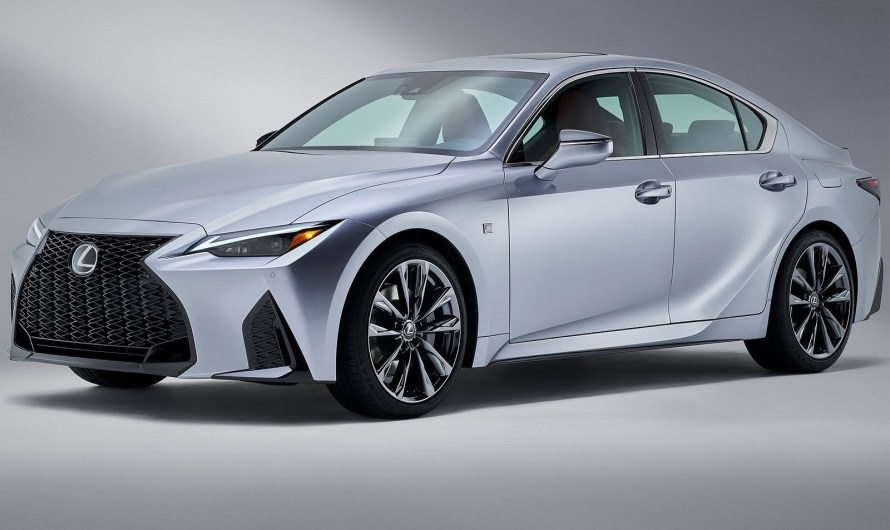 Lexus IS 2021 – Un look beaucoup plus moderne et exclusif