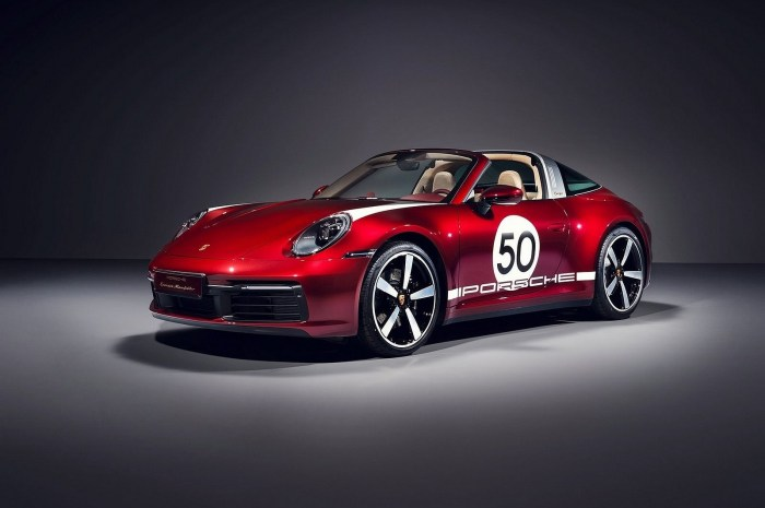 Porsche 911 Targa 4S Heritage Design Edition 2021 teintés de nostalgie