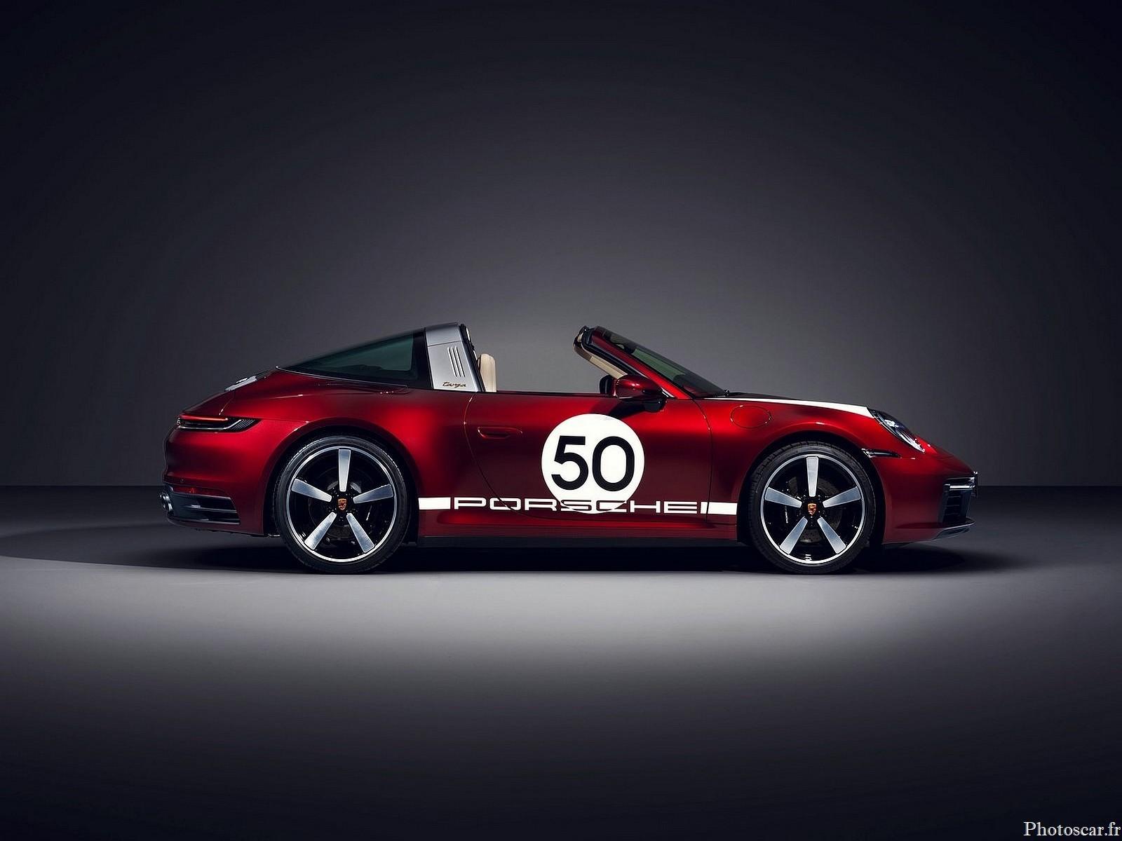 Porsche 911 Targa 4S Heritage Design Edition 2021