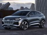 Audi Q4 Sportback e-tron Concept 2020 – La variante Coupé du Q4 e-tron