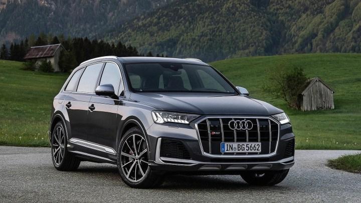 Audi SQ7 TFSI 2021 avec un moteur V8 essence de 507 ch !