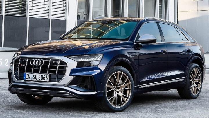 Audi SQ8 TFSI 2021 avec un moteur V8 essence de 507 ch !