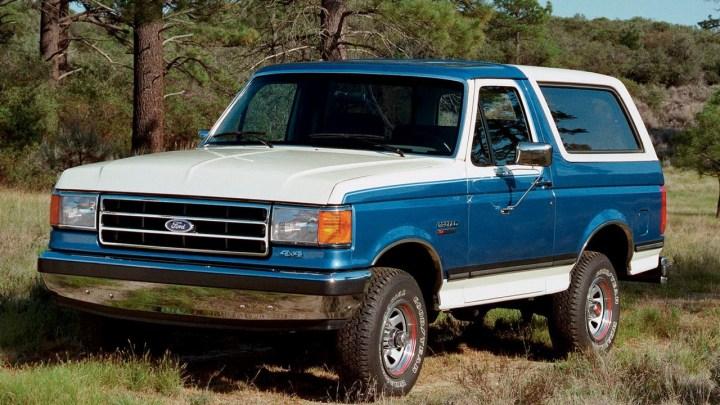 Ford Bronco – Retour sur le 4X4 qui a déclenché l'engouement Américain