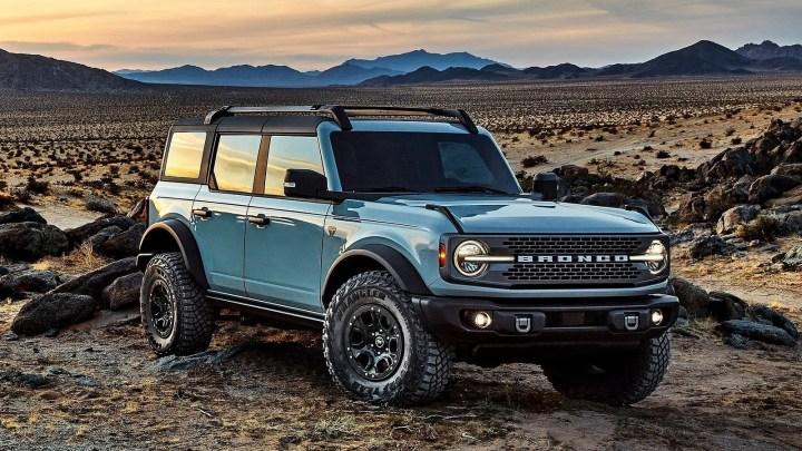 Ford Bronco 2021 – Il sera proposé sous forme de deux et quatre portes