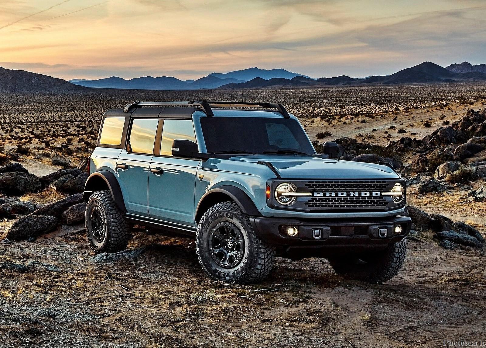 Ford Bronco 4 door 2021