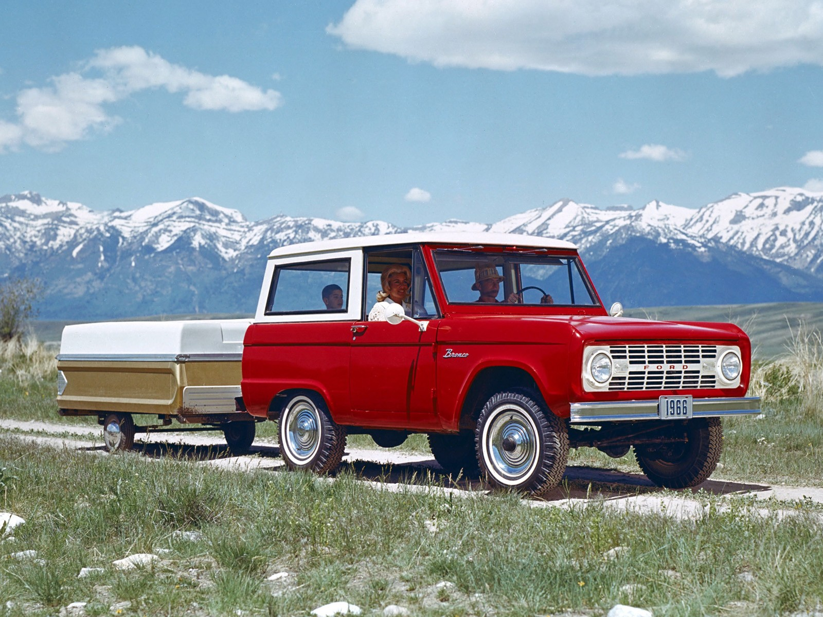 Ford Bronco Wagon U15 1966