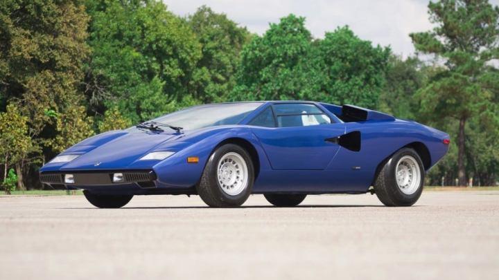 Lamborghini Countach Periscopica LP400 1976 incroyablement rare
