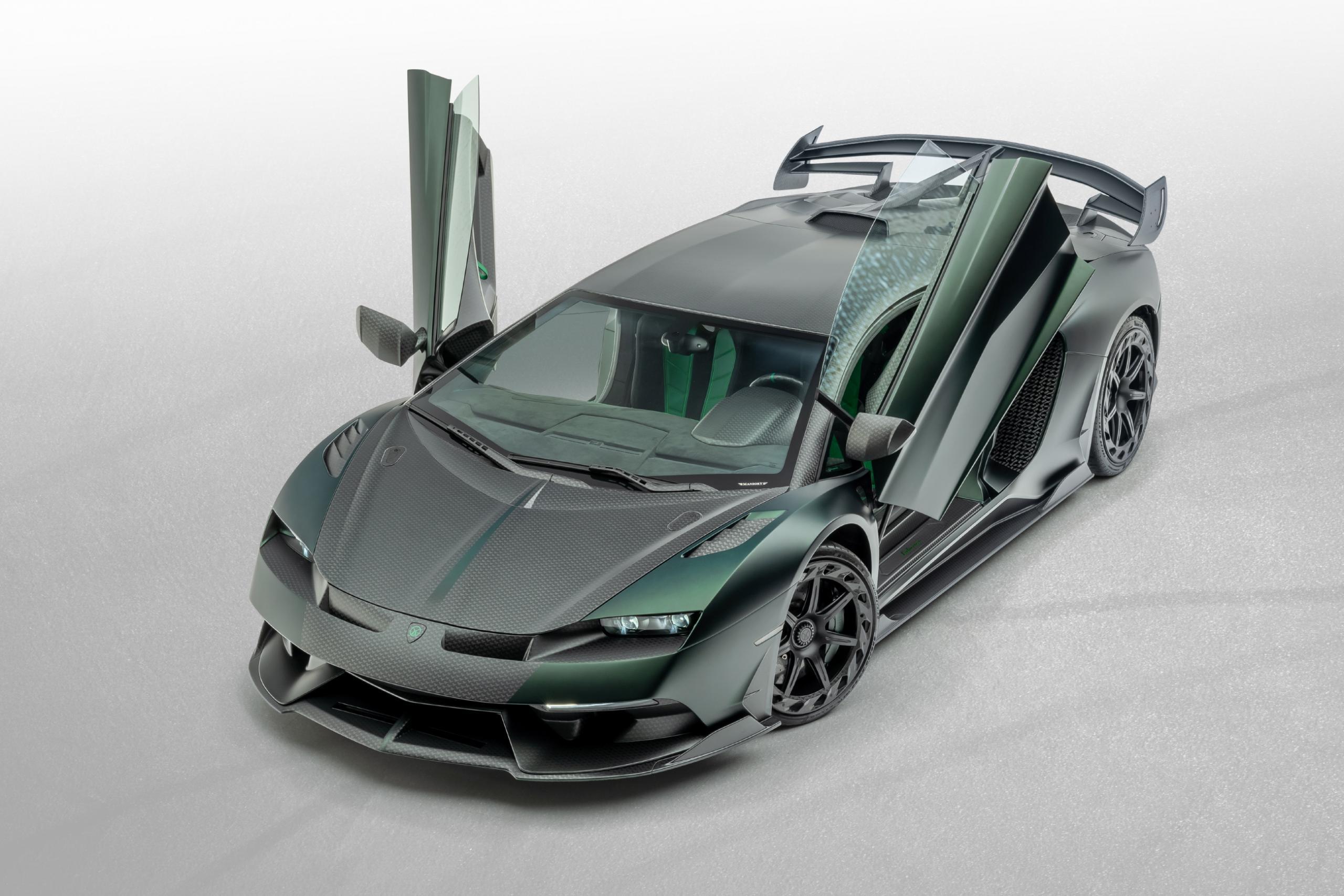Mansory Lamborghini SVJ Cabrera 2020