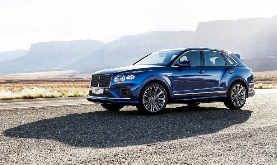 Bentley Bentayga Speed 2021 – Une puissance formidable rencontre un design époustouflant
