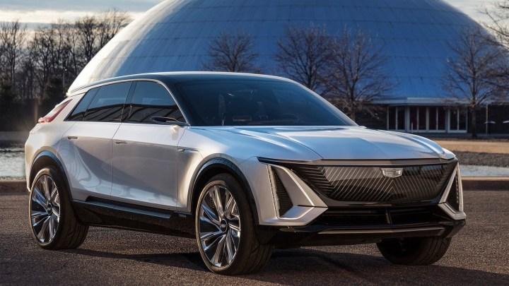 Cadillac Lyriq Concept 2020 inaugure une nouvelle ère chez GM