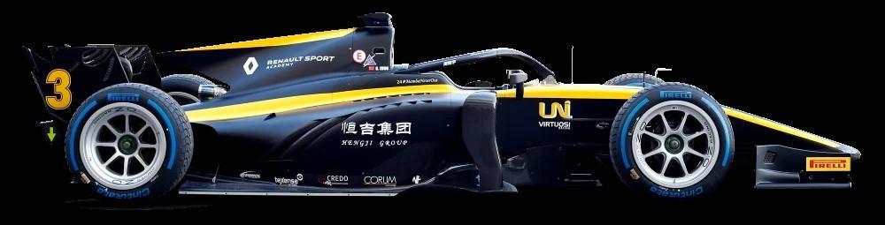 Formule 2 2020 - UNI Virtuosi Racing