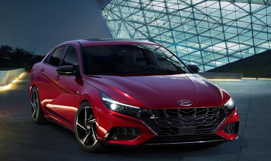 Hyundai Elantra N-Line 2021, une voiture à l'allure beaucoup plus sportive