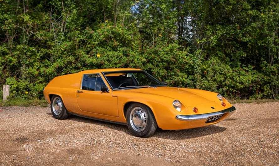 Lotus Europa Série 2 1969 – Une voiture de sport biplace à moteur central