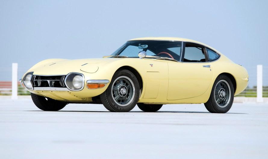 Toyota 2000GT MF10 USA 1967 – Une voiture bien-aimée de James Bond