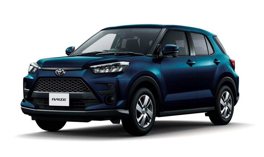 Toyota Raize 2019 – Il s'agit donc d'un petit SUV de moins de 4 mètres