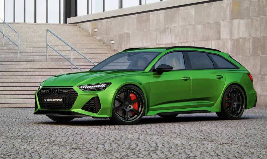 Audi RS6 C8 @Tentension Wheelsandmore 2020 – Un look impressionnant