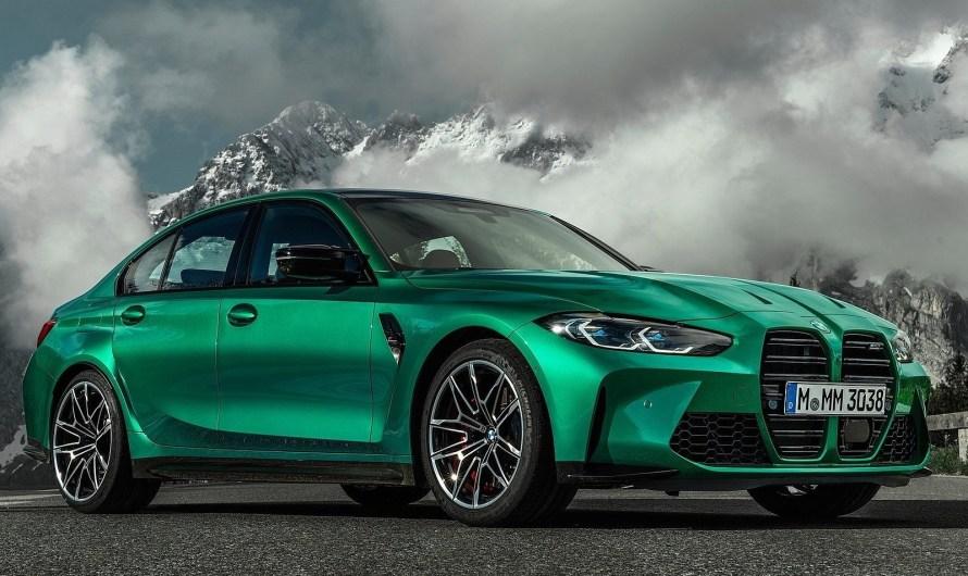 BMW M3 Competition 2021 – Elle succombe à la mode des calandres énormes
