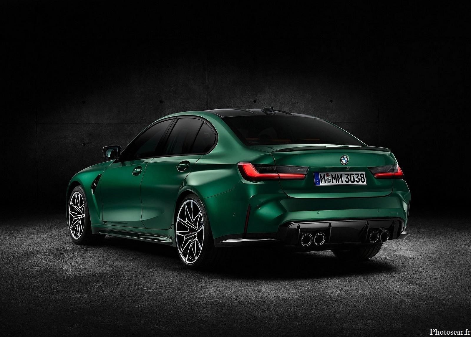 BMW M3 Sedan Competition 2021