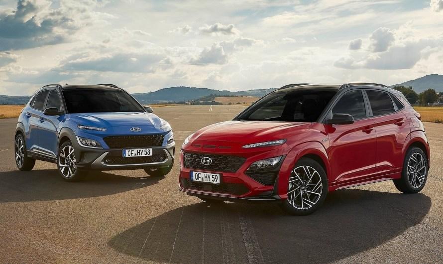 Le Hyundai Kona 2021 est le restylage de la première génération du SUV compact coréen.