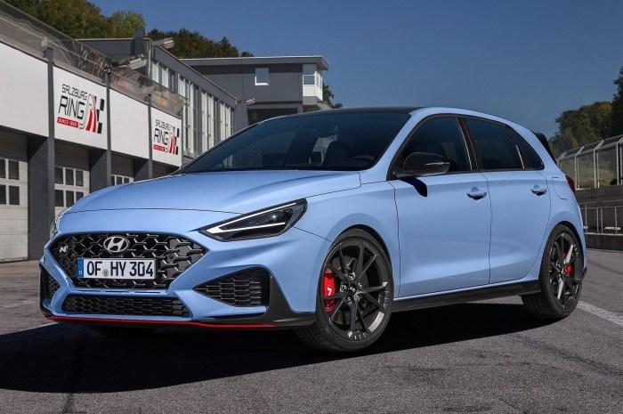 Hyundai i30 N 2021 – Livré avec une petite augmentation de puissance