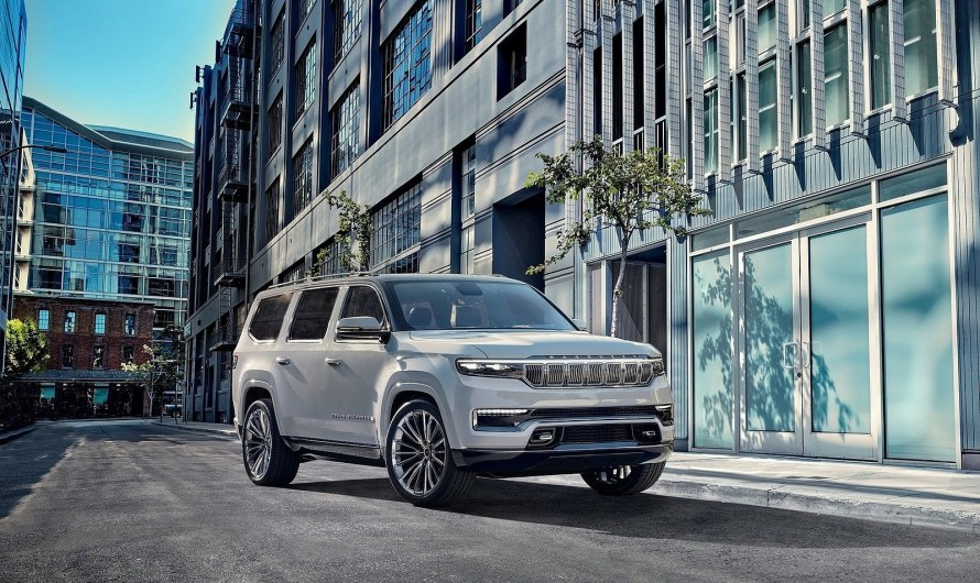 Jeep Grand Wagoneer Concept 2020 – Un look incomparable