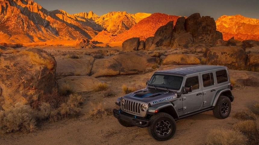 Jeep Wrangler 4xe Rubicon 2021