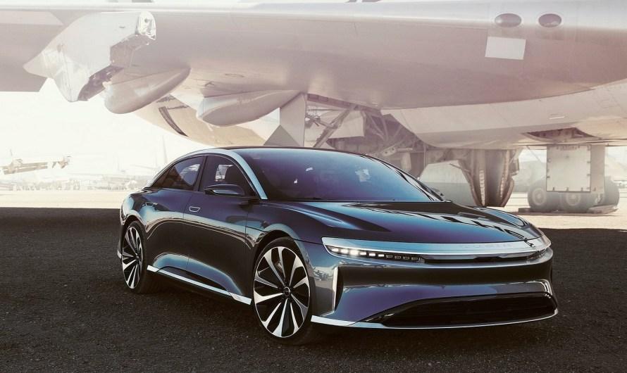 Lucid Air 2021 – La voiture de luxe la plus aérodynamique au monde