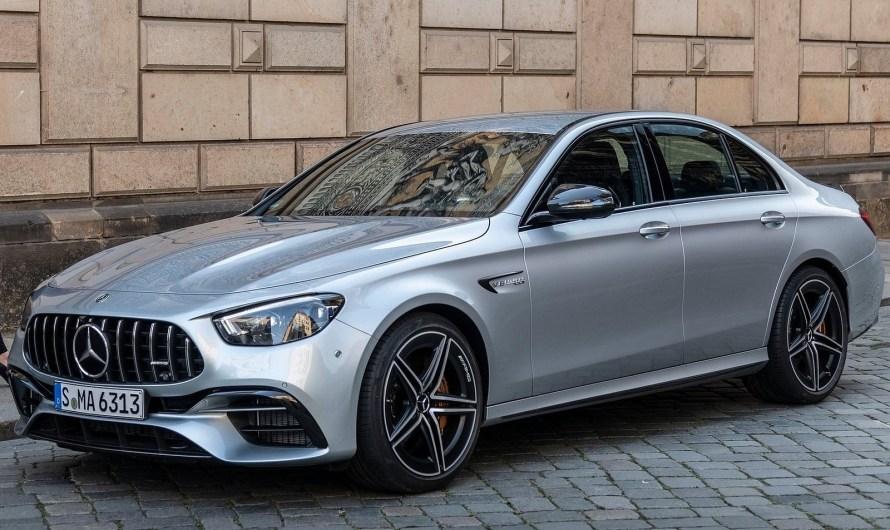 Mercedes AMG E63 S 2021 – elle reste fidèle au V8 biturbo de 603 ch !