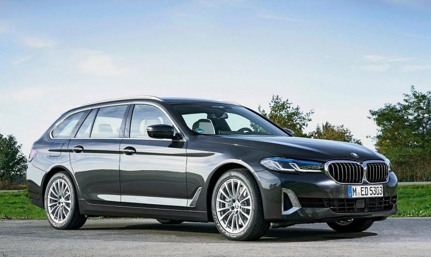 BMW Série 5 Touring 2021 – Technologie hybride légère 48V pour tous les modèles à quatre et six cylindres.