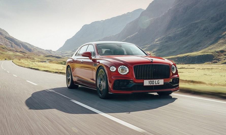 Bentley Flying Spur V8 2021 – C'est plus puissant que l'ancien V8