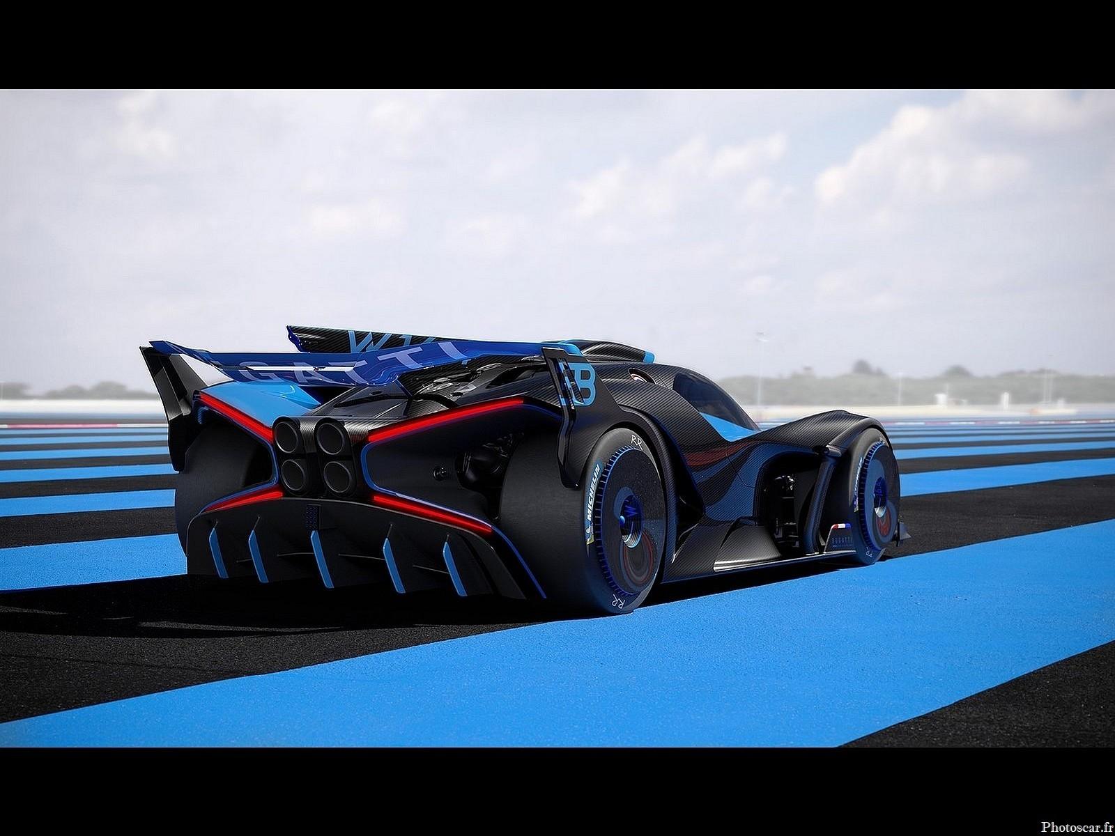 Bugatti Bolide Concept 2020