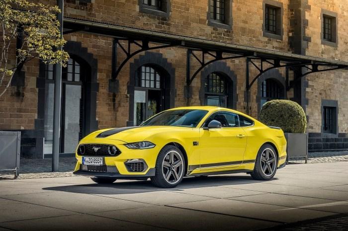 Ford Mustang Mach 1 Version EU 2021 – Un moteur V8 de 5,0 litres de 460 ch