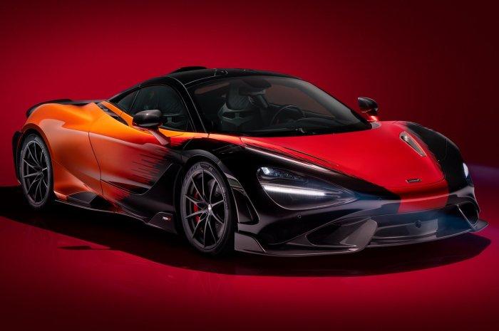 McLaren 765LT Strata Theme MSO 2021 – Une Stabilité aérodynamique