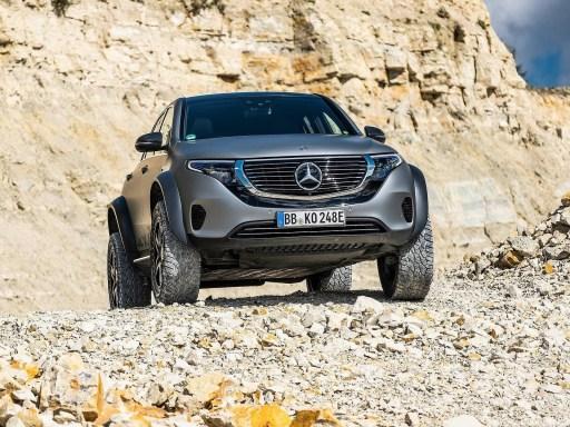 Mercedes EQC 4x4² Concept 2020