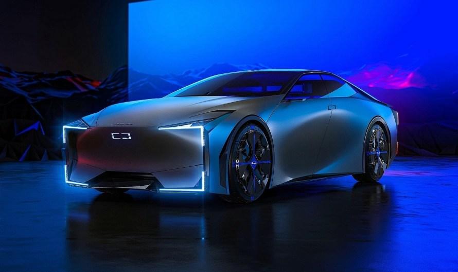 Qoros Milestone Concept 2020 – Un format de berline chinoise futuriste