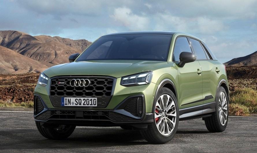 Subtilement rafraîchie, l'Audi SQ2 2021 arrive avec le même 300 ch pour 45700 €