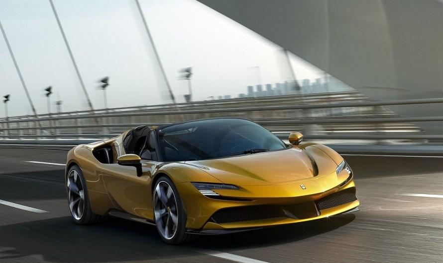 Ferrari SF90 Spyder 2021 – Supercar hybride à traction intégrale