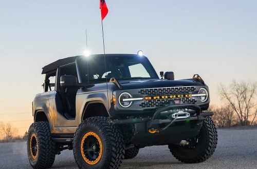 Ford Bronco Badlands Sasquatch 2 portes Concept 2020